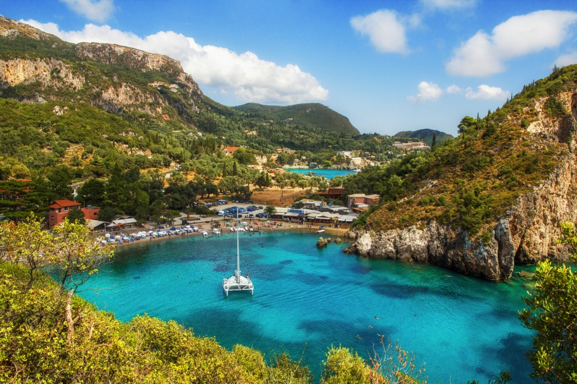 'Paleokastritsa bay, Corfu, Greece' - Κέρκυρα